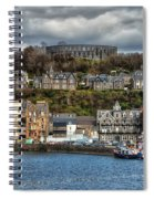 Mccaig's Tower At Oban Spiral Notebook