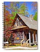 Mccall Cabin Spiral Notebook