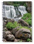 Mccloud Falls Spiral Notebook