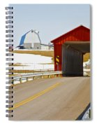 Mccolly Covered Bridge Spiral Notebook