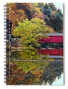 Mcconnell's Mill And Covered Bridge Spiral Notebook