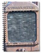 Mccormick Deering 2 Spiral Notebook