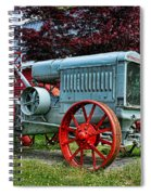 Mccormick Deering Red-wheeled Tractor Spiral Notebook