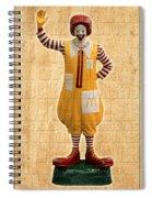 Mcdonald's Spiral Notebook