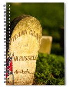 Mcgavock Confederate Cemetery Spiral Notebook