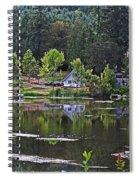 Mcintosh Lake In Washington Spiral Notebook