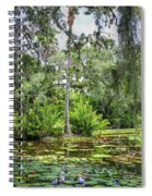 Mckee Botanical Gardens Spiral Notebook