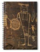 Mckee Ranch Petroglyphs Spiral Notebook