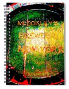Mcsorleys Brewery Spiral Notebook