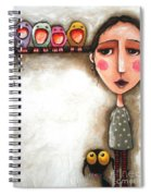 Me And My Birds Spiral Notebook