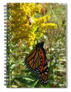 Me And The Bee Spiral Notebook