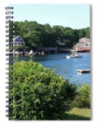 Round Pond Scene Spiral Notebook