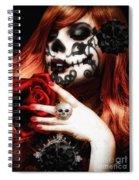 Me Muero De Amor Spiral Notebook