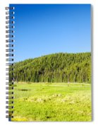 Meadow And Forest Spiral Notebook