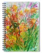 Meadow Flowers Spiral Notebook