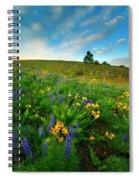 Meadow Gold Spiral Notebook