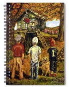 Meadow Haven Spiral Notebook