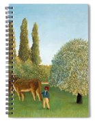 Meadowland. The Pasture  Spiral Notebook