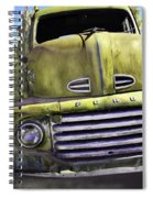 Mean Green Ford Truck Spiral Notebook