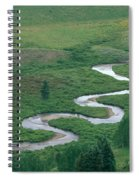 Meandering East River Spiral Notebook