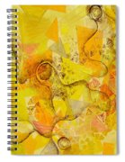 Meandering Melody Spiral Notebook