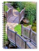 Meandering Pathway Spiral Notebook