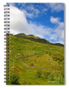Meandering Wall Spiral Notebook