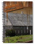Measure Of Time Gone By Spiral Notebook