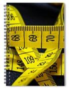 Measures Spiral Notebook