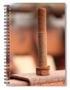 Mechanical Perspective Spiral Notebook