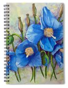 Meconopsis    Himalayan Blue Poppy Spiral Notebook
