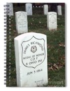 Medal Of Honor Spiral Notebook