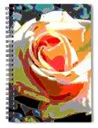 Medallion Rose Spiral Notebook
