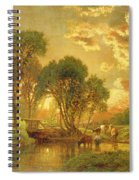 Medfield Massachusetts Spiral Notebook