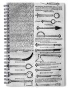 Medical Instruments, 1531 Spiral Notebook