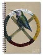 Medicine Wheel Spiral Notebook