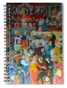 Medieval Banquet Spiral Notebook