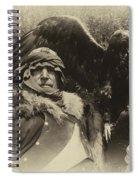 Medieval Barbarian Artur And Spirit 2 Spiral Notebook
