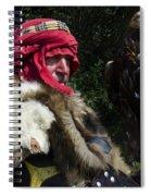 Medieval Barbarian Artur And Spirit Spiral Notebook