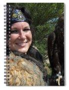 Medieval Barbarian Eriana Iceni And Spirit Spiral Notebook