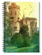 Medieval Castle - Old World  Spiral Notebook