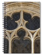 Medieval Church Window Ornaments Spiral Notebook