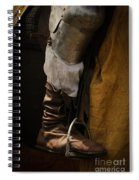Medieval Faire Boot Detail 2 Spiral Notebook