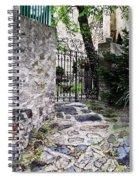 Medieval Garden Spiral Notebook