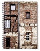 Medieval Houses In Albi France Spiral Notebook
