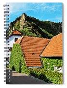 Medieval Street Spiral Notebook
