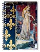 Medieval Tapestry Spiral Notebook