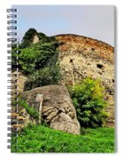 Medieval Tower Spiral Notebook