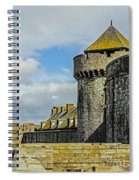 Medieval Towers Spiral Notebook