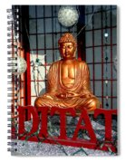 Meditate Spiral Notebook